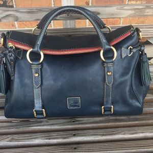 Dooney & Bourke Marine Florentine Satchel Medium